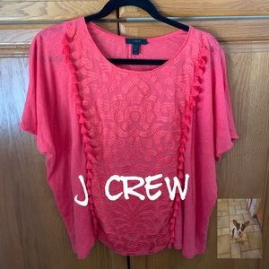 RED Casual Blouse size XL